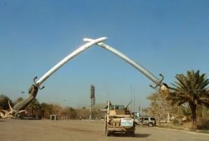 crossed swords iraq