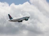 plane air airline travel