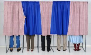 election poll vote cast ballot