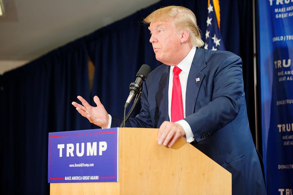 Donald Trump wfp