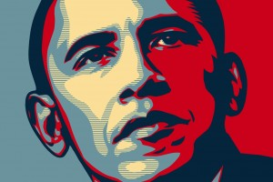 barack obama hope propaganda poster