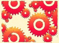 gears work accomplish task to do action