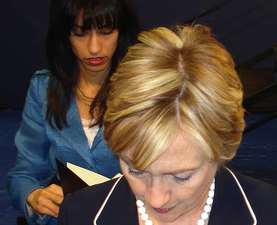 Hillary Clinton Huma Abedin