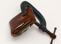money poor debt broke savings budget taxes