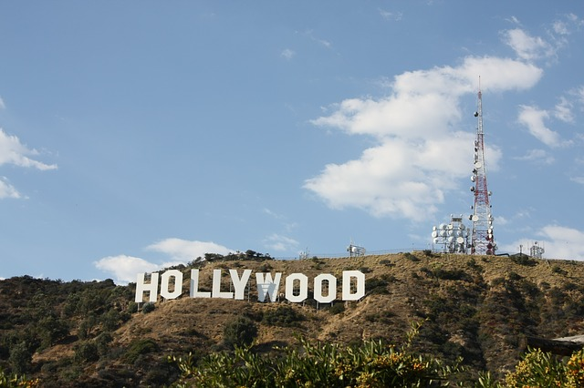 hollywood sign movie film tinseltown celebrity famous actor actress movie