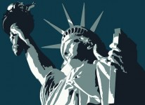 american statue of liberty freedom