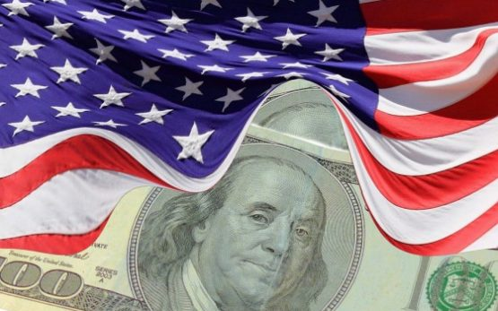 dollar flag money u.s. america economy currency