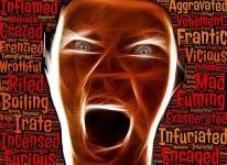 enraged anger leftist liberal mad