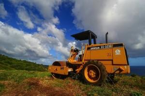 caterpillar tractor construction build