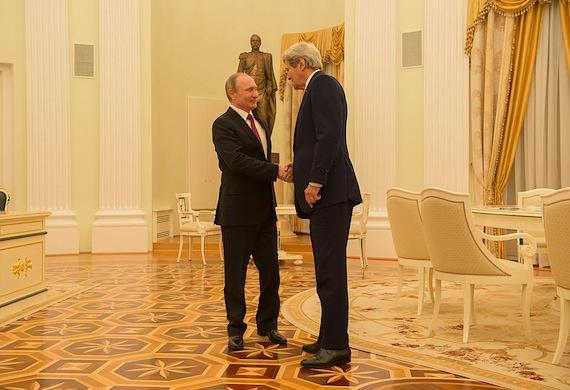 secretary of state john kerry vladimir putin russia