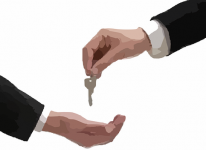 agreement keys airbnb rental escrow mortgage home house