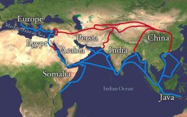 Silk route road trade wfp