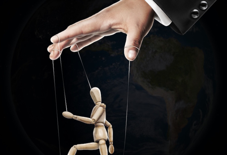hand control puppet government wfp