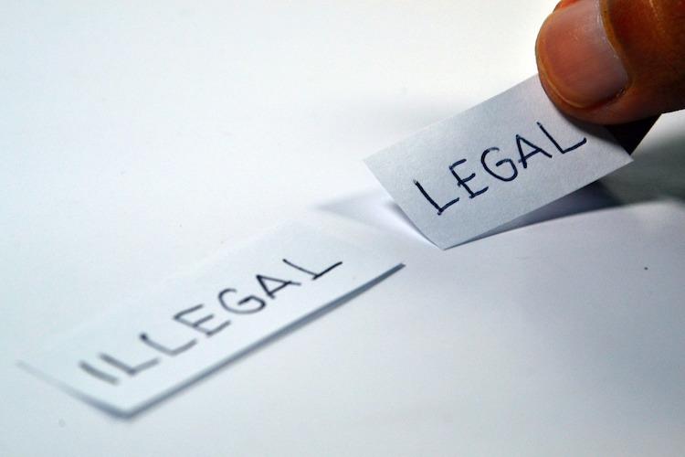 legal law regulation illegal rule