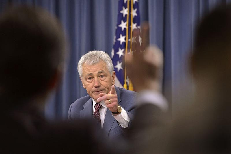 chuck hagel wfp secretary of defense