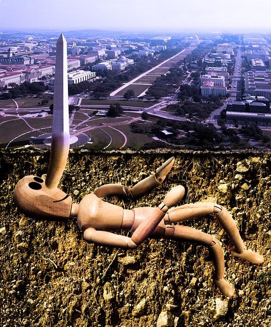Washington DC as Pinocchio
