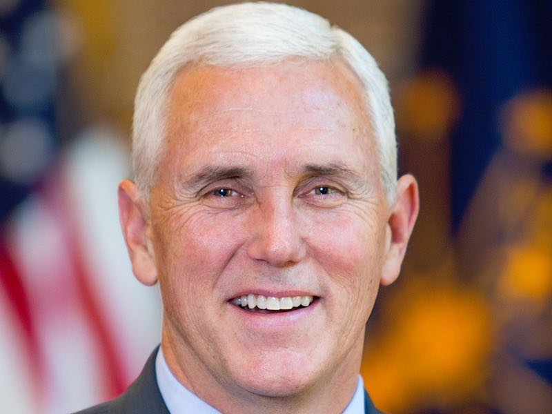 governor mike pence wfp vice presidential candidate vp