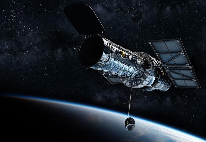 hubble telescope satellite space exploration orbit wfp nasa