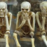 skeletons see speak hear no evil wfp