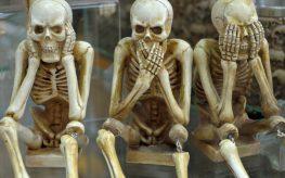 skeletons see speak hear no evil wfp