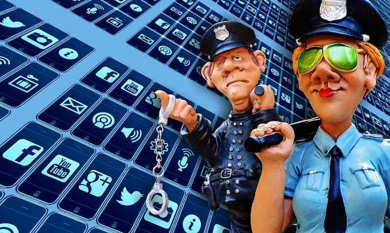 social media internet freedom police regulate wfp