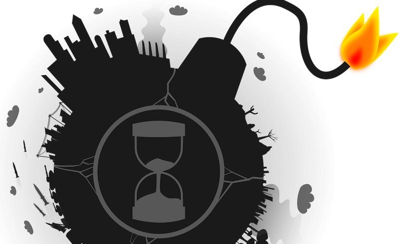 world timer bomb hourglass countdown wfp