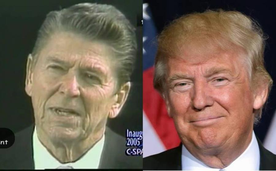 Ronald Reagan 1985 vs Donald Trump 2017 - Deja Vu?