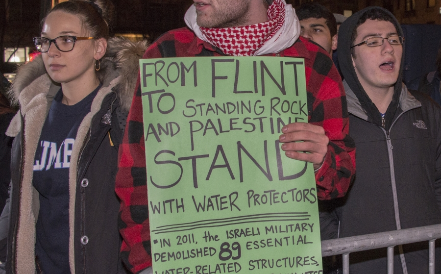 Anti-Israel Groups Protest Emergency Rally For Israel at Columbia University