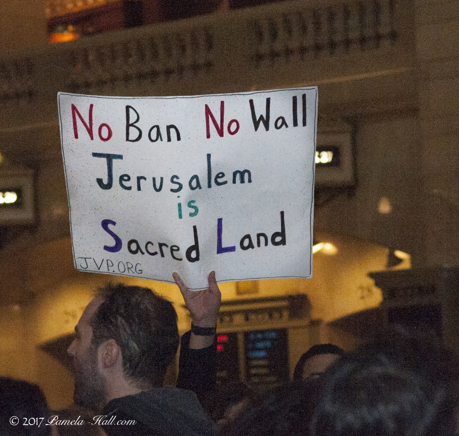 """National """"Day Of Hate"""" (Commie Style):  Grand Central Station - NYC"""