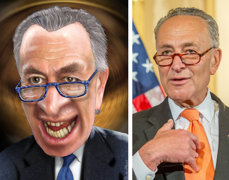 Chuck Schumer is Losing His Mind