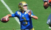josh rosen throwing football