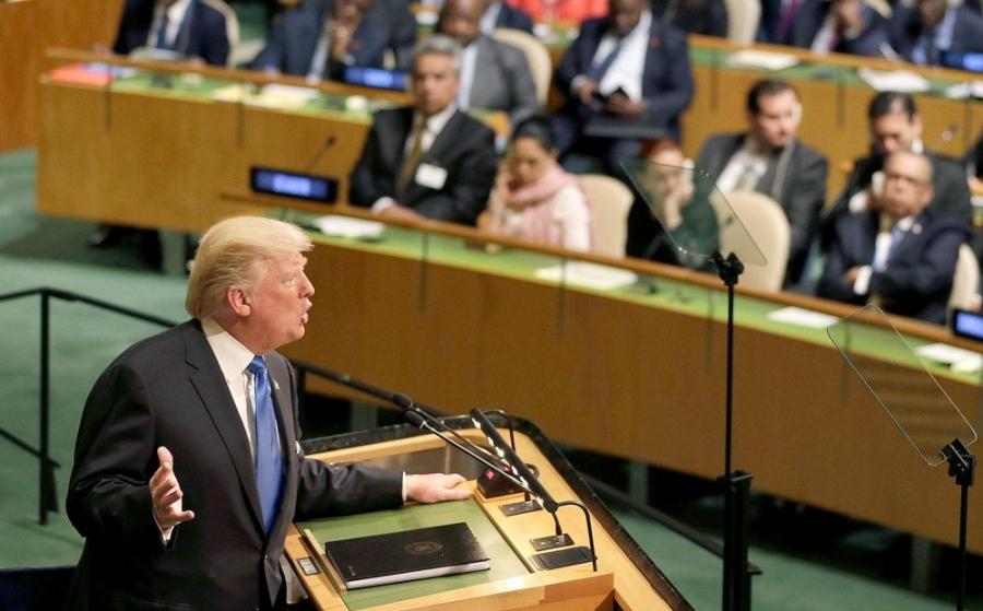 "President Trump Calls Out ""Rocket Man."" Challenges World Leaders in UN Speech."